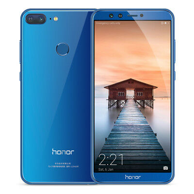 """5.65"""" Huawei Honor 9 Lite 4G Téléphone Android8.0 4GB+32GB 4Cameras Touch ID FR"""