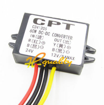 FP DC/DC Converters Electric Buck Converter 24V to 12V 60W 5A Step-Down Module-4