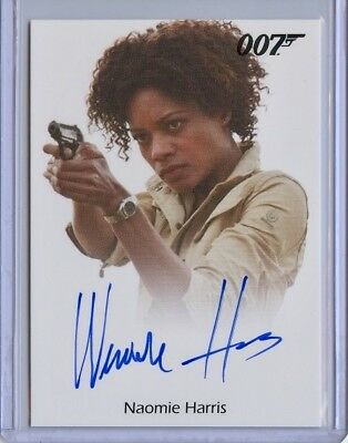 2016 James Bond Classics Skyfall NAOMIE HARRIS Full Bleed Autograph