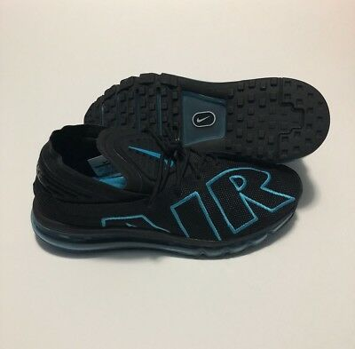 e760378aabb Nike Air Max Flair Mens 942236-010 Black Neo Turquoise Running Shoes Size  9.5