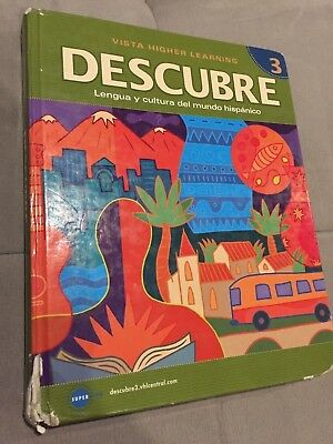 Descubre level 1 1 by vista higher learning workbook 876 descubre level 3 by vista higher learning 2010 hardcover student edition fandeluxe Gallery