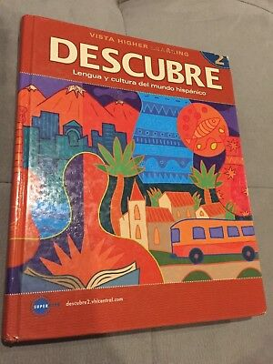 Descubre level 1 1 by vista higher learning workbook 876 descubre level 2 by vista higher learning fandeluxe Gallery