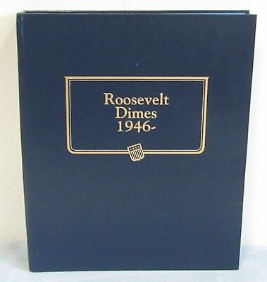 Roosevelt Dimes Whitman Classic Album 1946-. New. No coins. CLOSEOUT SPECIAL