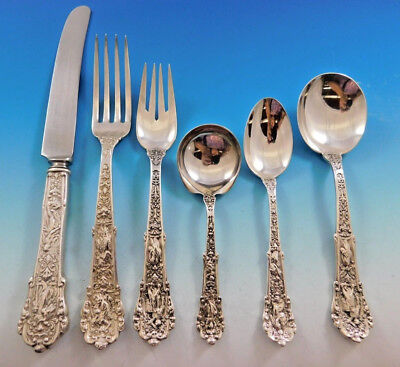 Coligni by Gorham Sterling Silver Flatware Set for 8 Service 63 Pieces Dinner