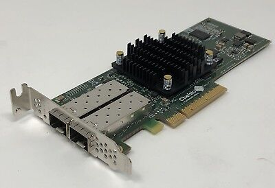 Chelsio T520-CR 10GbE 2-Port PCIe Unified Wire Adapter Card 110-1160-50 E