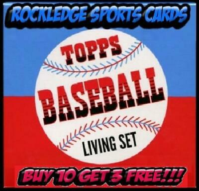 2018-2019 Topps Living Set Singles #1-183 Pick Your Cards (Buy 10 Get 3 Free*)