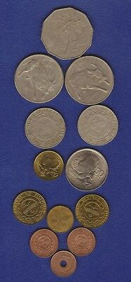 PHILIPINE COINS - Nice current mix Incl HTF items - for collectors or travellers