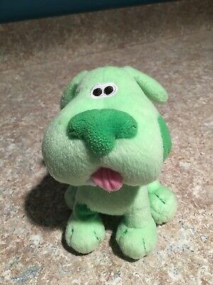 blues clues green puppy plush. Blues Clues Green Puppy Plush Dog EUC VHTF!!! Rare