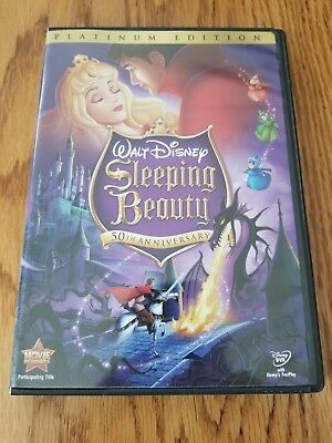Disney's Sleeping Beauty (DVD, 2008, 2-Disc Set, Platinum Edition)