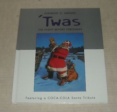 HALLMARK STORES CLENENT C MOORE 'TWAS the NIGHT BEFORE CHRISTMAS COCA COLA BOOK