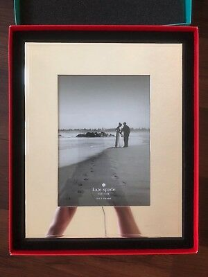 Kate Spade Silverplate 5x7 Darling Point Wedding Frame 1949
