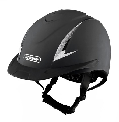 John Whitaker NRG New Rider Generation Riding Helmet Hat Competition Approved Bl