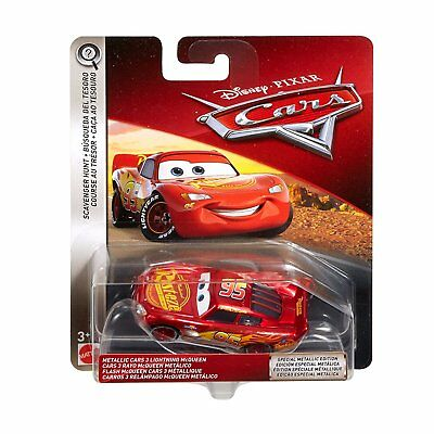 Disney Pixar Cars 2018 Scavenger Hunt Lightning McQueen Metallic Ransburg Paint