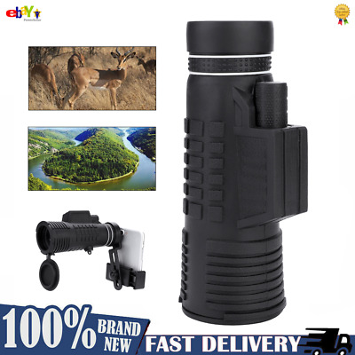 50X60 Zoom Optical HD Lens Monocular Telescope +Tripod +Clip For Mobile Phone DY