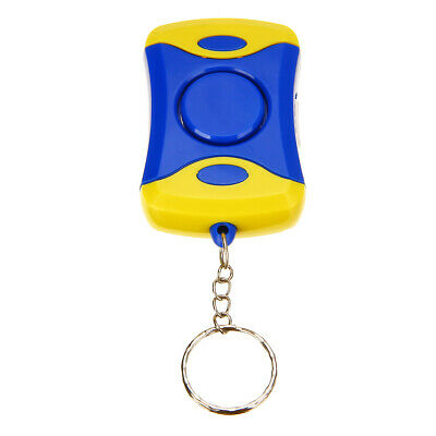 Personal Alarm Emergency Safety Self Defense Anti-Attack With Light Keychain New