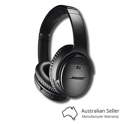 Bose QC35 QuietComfort 35 II Wireless Headphones - Black / Silver - [Au Stock]
