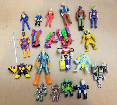 Huge Mixed Lot of Action Figures Toys, vintage, odd, titan ae, mask etc