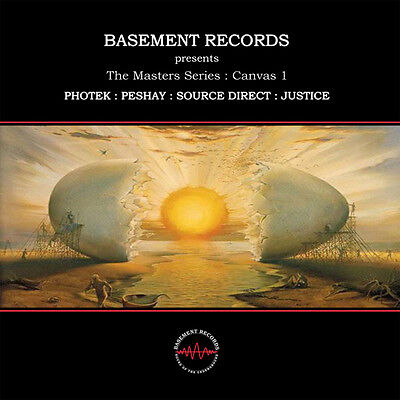 """2 x 12"""" UK DRUM 'N' BASS**THE MASTERS SERIES: CANVAS 1 (BASEMENT RECORDS)**4727"""