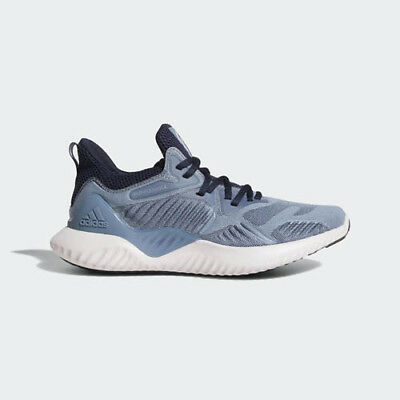 ad5711946ccef Adidas CG5580 Alpha bounce Beyond Running shoes blue grey Sneakers