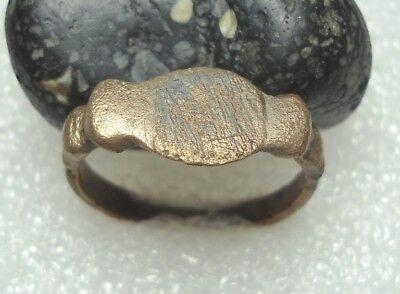 Ancient Roman Bronze Ring Original Authentic Antique Rare