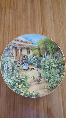 Collector Plate - Images of Australia - Country Garden - Limited Edition