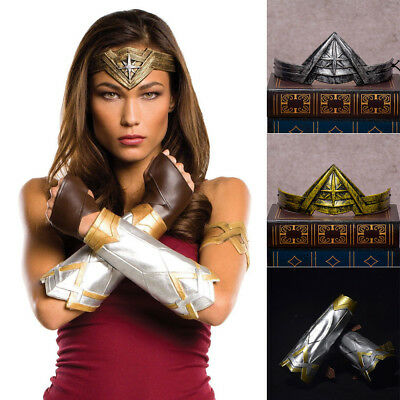 Superhero Wonder Woman Cosplay Headwear Headband Tiara Crown Fancy Dress Costume