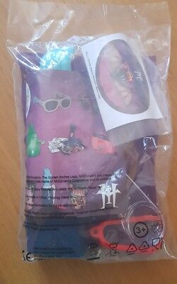 Mcdonalds Happy Meal Toy Hotel Transylvania 3 Seal Packet New