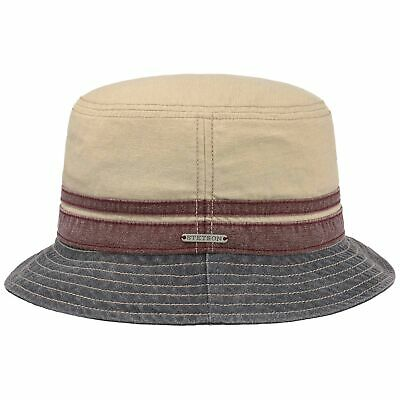 e8d33f60f8f Stetson Washed Cotton Bucket Hat Hats Men fishing hat Cloth