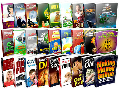 1000 Plr Ebooks with master resale rights I will make you 1000 amazing + Bonus