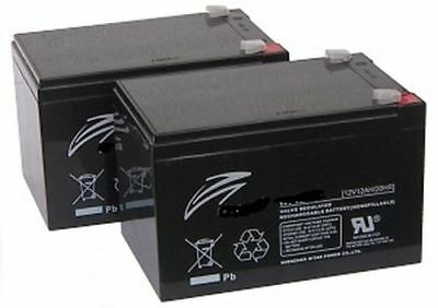 Pair of 12V 12AH Batteries Pride Shoprider Elite GOGO Traveller Scooter V