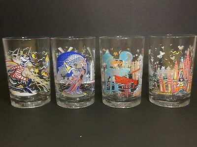 Disney World Remembering The Magic McDonald Glasses