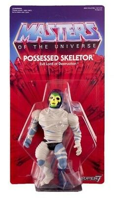 Possessed Skeletor by Super 7 Masters of the Universe MOTU he man action figure