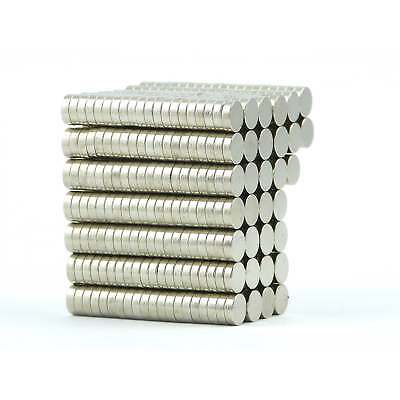 N38 6mm dia  2mm strong Neodymium disk magnets craft fridge DIY cheap Var.Packs