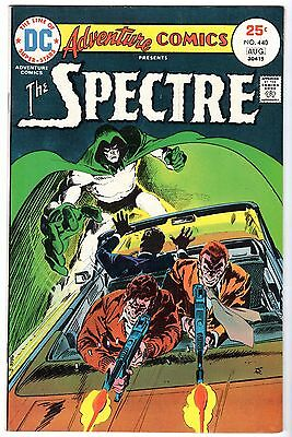 Adventure Comics #440 Featuring the Spectre & Crimson Avenger, Very Fine Cond'
