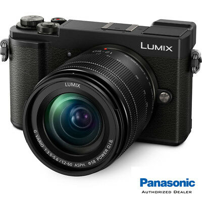 Panasonic Lumix DC-GX9 20.3MP  Camera w 12-60mm Lens, Black **USA AUTHORIZED**