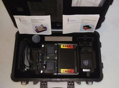 Corning X77i SM MM Fiber Core Alignment Micro Fusion Splicer w Cleaver X77