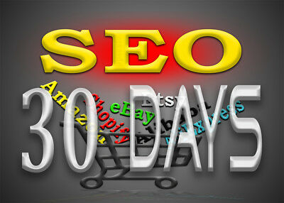 Monthly SEO campaign for Amazon, eBay, Etsy, Shopify, Alibaba, AliExpress or