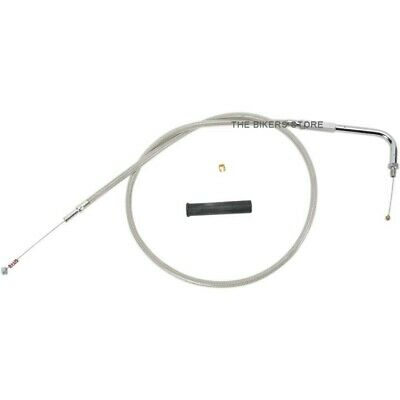 "Drag Specialties 0651-0125 42"" Braided Idle Cable For Harley"