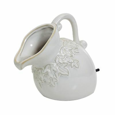 pond boss SPPC Ceramic Pouring Pitcher Spitter, Cream