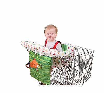 Eric Carle Shopping Cart and Hi Chair Cover, Baby Cart Cover, Grocery Shoppin...