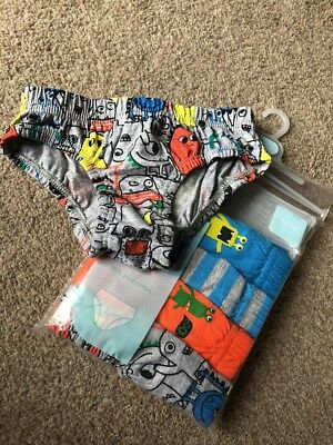 Mothercare Boys Briefs Pants Monsters Bright 18-24 Months Underwear