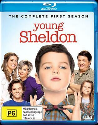Young Sheldon: Season 1 - Blu Ray Region B Free Shipping!