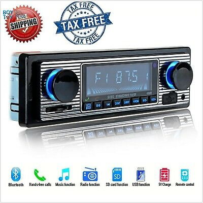 12V Car Radio Player Bluetooth Stereo FM MP3 USB SD AUX Audio Auto Electronics