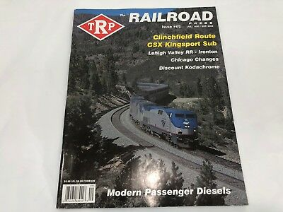 TRP The Railroad Press Issue #62 Jul / Aug / Sep, 2004