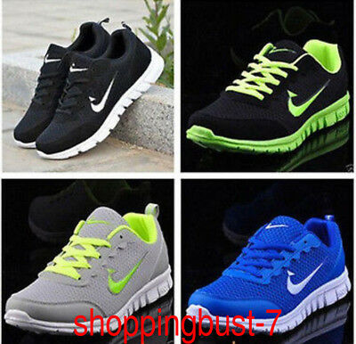 Men 's Outdoor sports Breathable Casual Sneakers City Running Athletics Shoes