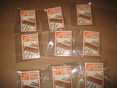 Home-Depot-Kids-Workshop-Lot-of 9 free shipping