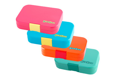Yumbox Panino 4 Compartment Leakproof Bento Box 4 Colours