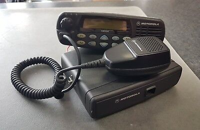 MOTOROLA GM338 128CH Vhf Mobile Base Station Two Way Radio