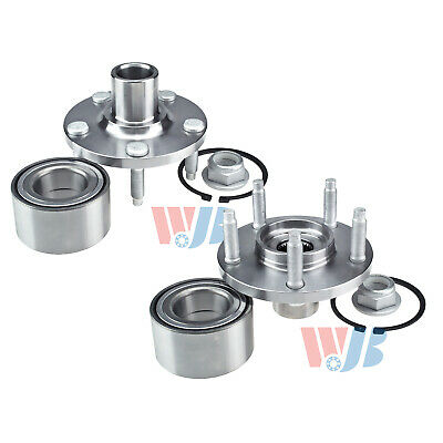 Pair Front Wheel Hub Bearing Assembly Kit for Ford Edge 2007-2010 Lincoln MKX