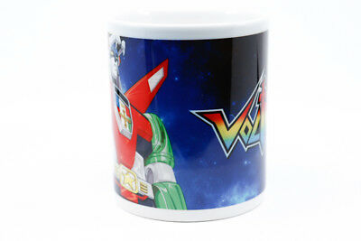 Voltron Defender of the Universe 11oz Coffee Mug Sublimated Retro 80s Cartoon
